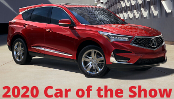 2020 Car of The Show: Acura RDX