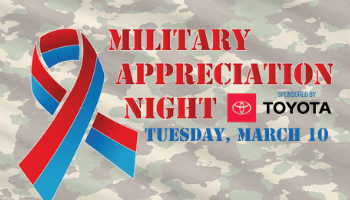 Military Appreciation Night