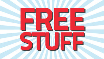 Free Stuff and Features Too Good To Miss!