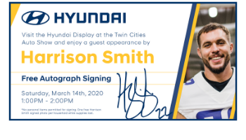 Hyundai Presents: Harrison Smith
